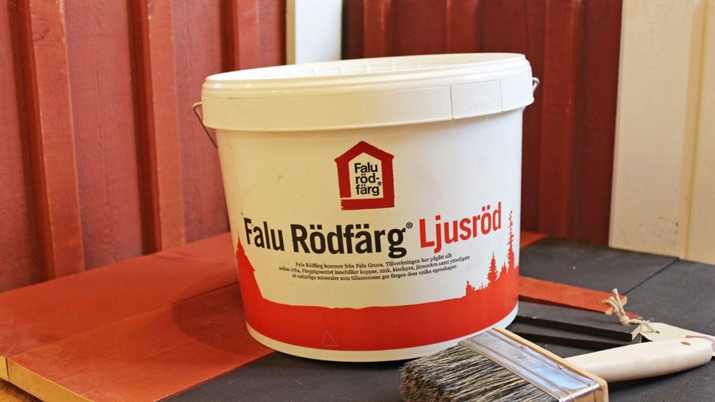Attraktiva Falu rödfärg - Slöjd & Byggnadsvård TC-06