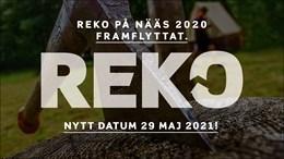 Reko framflyttat till 29 maj 20201